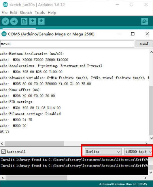 OpenMV tracking py problems - uArm Swift (Pro
